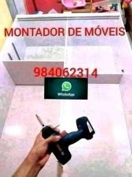 Título do anúncio:  MONTADOR DE MÓVEIS.    *