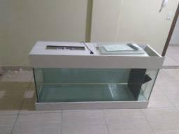 Aquário 325 L 148-55-40 vidro 10 mm