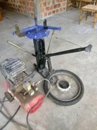 Maquina manual desmontar pneu