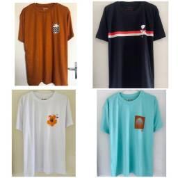 Camisetas Osklen originais malhões big shirts novas