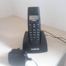 Telefone sem fio Intelbrás modelo TS 40 ID, semi novo, vendo (31) 98744.2380