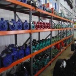 Estante de aço e porta pallets a pronta entrega