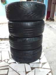 Título do anúncio: Super oferta para sair hoje vendo os 4 pneus meia vida aro 17 valor 200,00