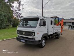 Título do anúncio: caminhão escavadeira!!!vw 8160, 2013, único dono!!!