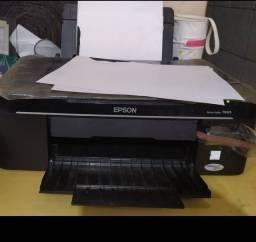 Impressora e scannerl Epson Stylus TX 125. Com Bulk