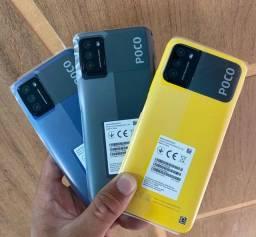 Xiaomi poco m3 64gb 4gb ram tela 6.53 6000mAh bateria 48mpx câmera novos