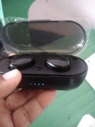 Título do anúncio: Um fone de ouvido digital c bluetooth