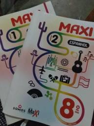 Título do anúncio: Livros sistema Maxine de ensino