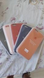 Título do anúncio: Case iphone aveludados