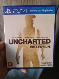 Título do anúncio: Jogo Uncharted The Nathan Drake Collection PS4