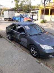 Civic 2005 automático com GNV
