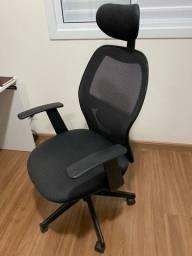 Cadeira Para Escritório Presidente Giratória Ergonômica