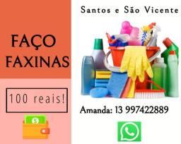 Diarista - faxinas em Santos