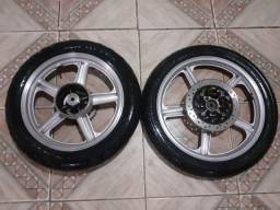 Duas rodas completas kansas 150
