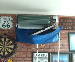Higienizacão de ar condicionado split