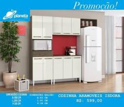 cozinha Isdora planeta móveis