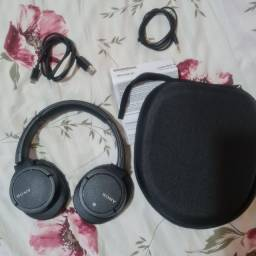 Fone Bluetooth Sony ZX780BC - ZERO - Com cancelamento de ruído - Aceito Cartão