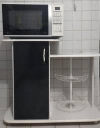 Microondas LG 30L + móvel