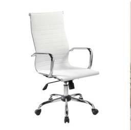 Cadeiras Presidente Branca Preto Novas Garantia Cadeira