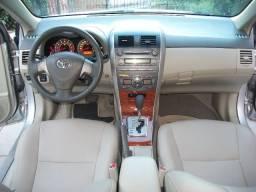Corolla SEG 1.8 flex 16v automático, prata, ipva pago, aceito troca