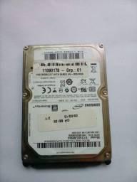 HD Notebook Samsung 250 GB - R$ 70,00