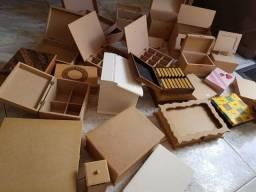 Lote caixas MDF