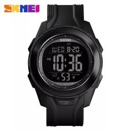 Título do anúncio: Relógio Militar SKMEI 1503 Black led unissex A Prova D'Água 5ATM ENTREGA GRÁTIS*
