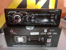 Radio usb bluetooth novo promoçao