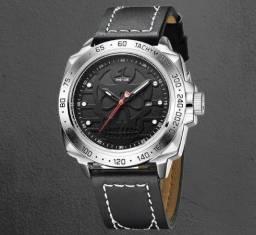 Relógio Masculino Weide Caveira Original