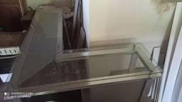 Balcão de vidro 1000 reais