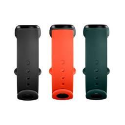 Kit 3 Braceletes de silicone Para Pulseira Mi Band 5 (original Xiaomi)
