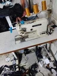 Título do anúncio: Prespontadeira ponto fixo nitaka modelo brother pé de cabra máquina top