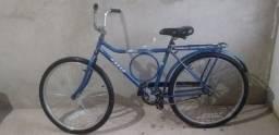 Bicicleta  da cor azul