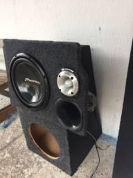 Trio Pioneer  caixa de som