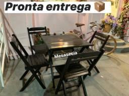 Mesa e cadeira entrego