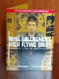 DVDs Noel Gallagher e Titãs