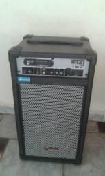 Caixa Multiuso Iron 600 Preta Hayonic Bluetooth/USB/SD/FM