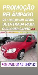 Loucura!R$1MIL DE ENTRADA SHOWROOM(PRISMA 1.4 2011) - 2011