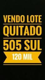 Lotes na 505 Sul ( Arso 52 ) quitado 120 mil