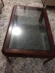 Mesa de vidro em perfeita condições