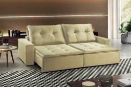 Sofa Retrátil e Reclinável Interlagos A164