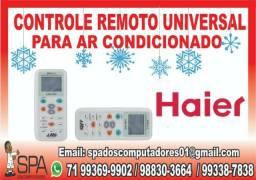 Controle Universal para Ar Condicionado Haier em Salvador Ba comprar usado  Salvador