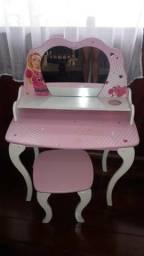 Usado, Linda Penteadeira Barbie Star com Banqueta Rosa comprar usado  Rio de Janeiro