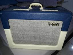 Vox ac15 TV cream blue