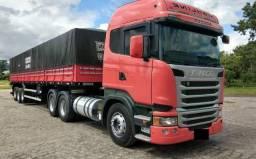 Conjunto Scania R-440 6X2 Ano 2014 - 2014