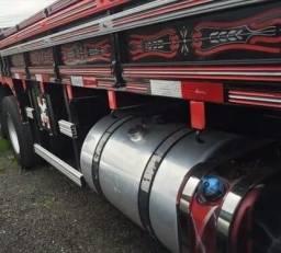 Scania bitruck p-310 8x2 carroeria madeira automatico direto - 2013