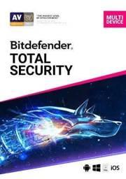 Licença Antivirus Bitdefender Total Security 2020 - 1 Ano - Original