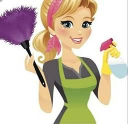 Diarista de limpeza ,faxinas 120 reais a diaria