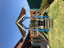 Parque infantil de madeira