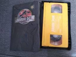 Fita cassete original Jurrasic Park
